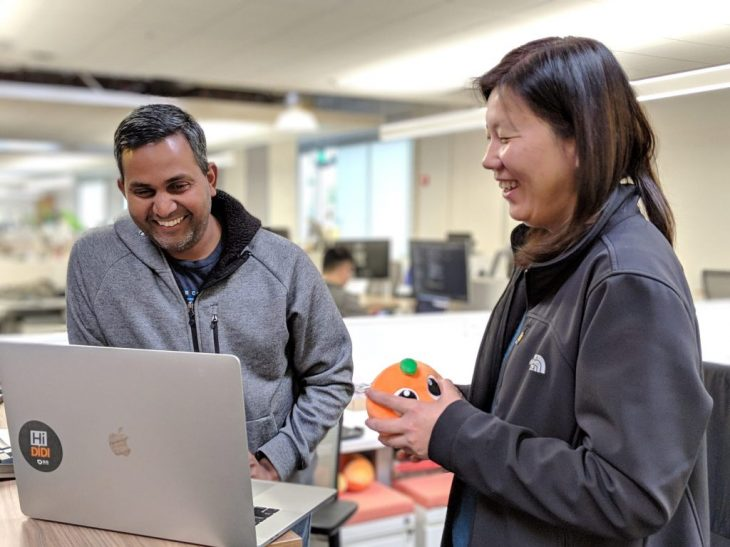 DiDi Labs employees in Mountain View, California